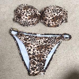 NWOT Cheetah Bikini